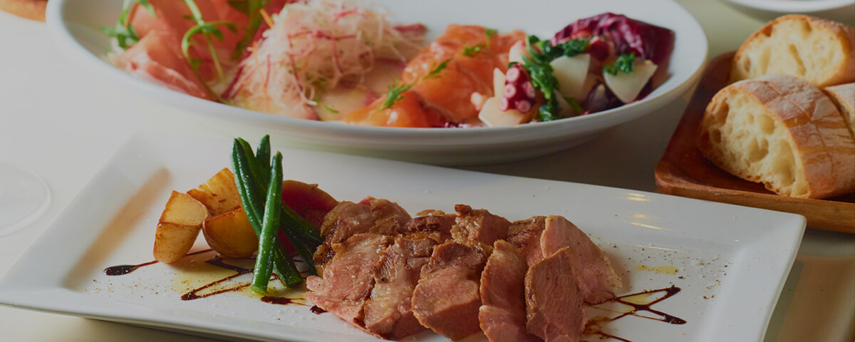 イタリア産スプマンテも含む2.5時間飲み放題付 メインは三元豚のグリル!