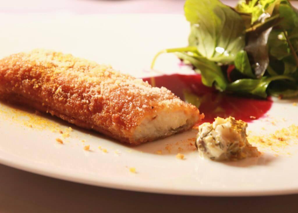 秋のランチコース メイン料理 お魚