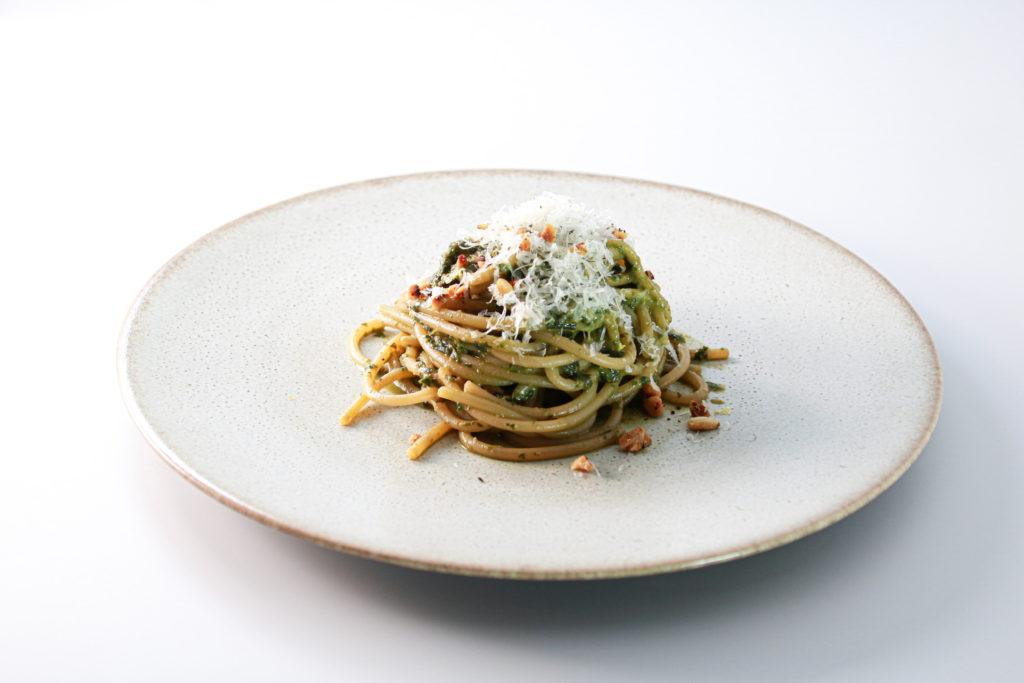 有機栽培バジル スパゲッティジェノベーゼ